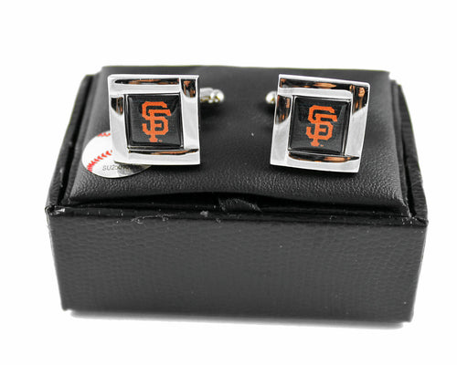 San Francisco Giants Cuff Links with Case
