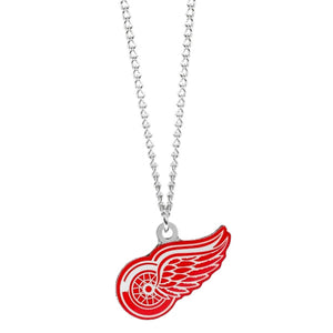 Detroit Red Wings Logo Necklace