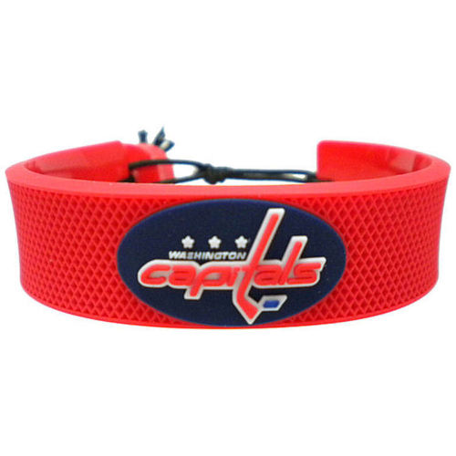 Washington Capitals Rubber Bracelet