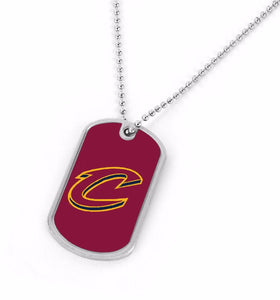 Cleveland Cavaliers Dog Tag Necklace
