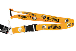 Boston Bruins Lanyard Key Chain