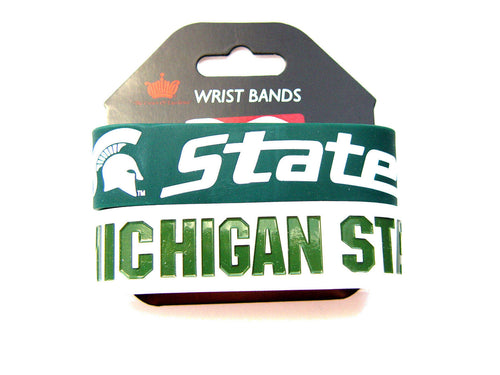 Michigan State Spartans Rubber Bracelets