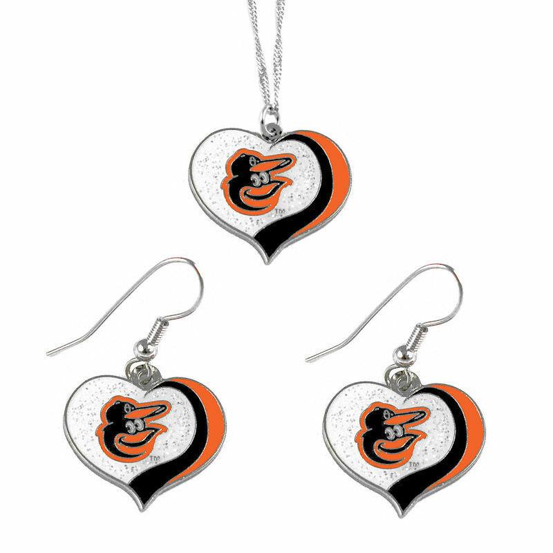 Baltimore Orioles Jewelry Set
