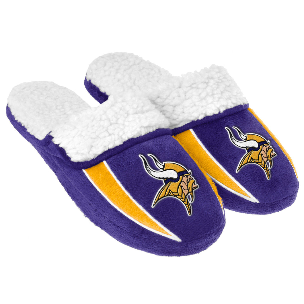 Minnesota Vikings Men's Sherpa Slippers