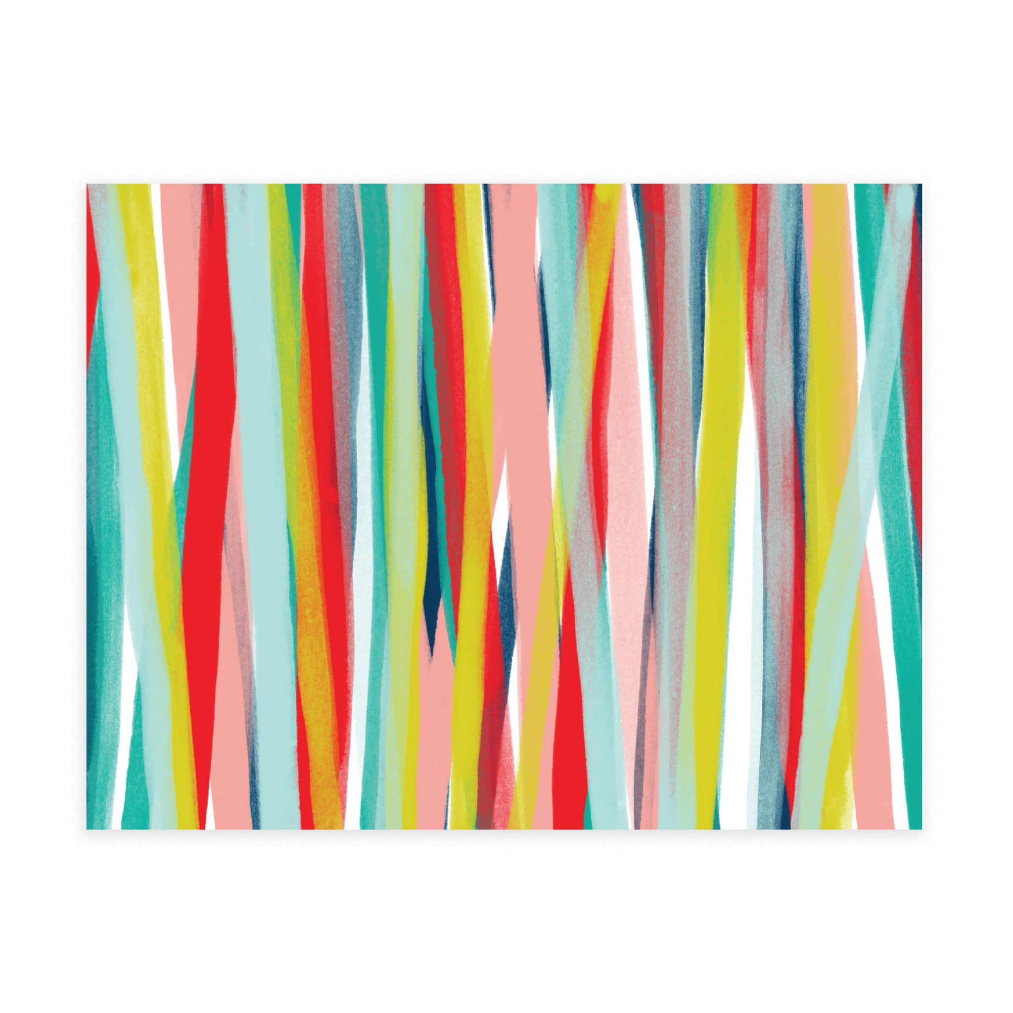 Painted Stripe - Note Card Set