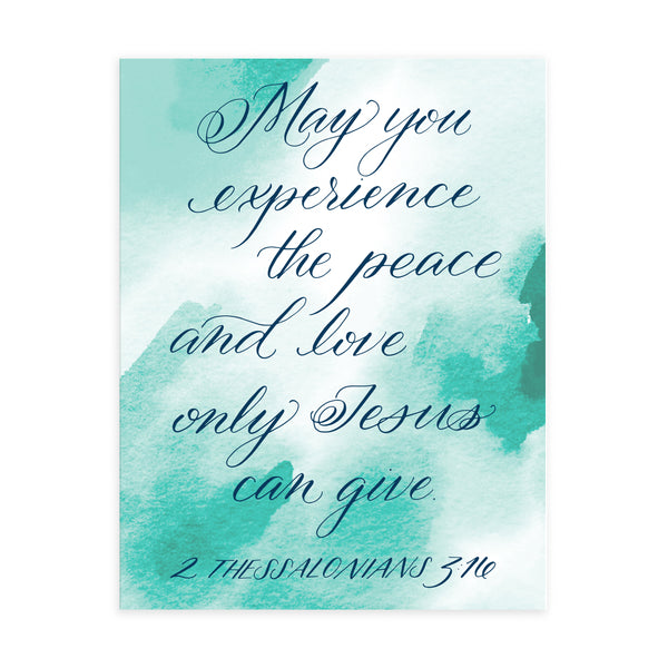 """Experience the Peace""- Greeting Card"