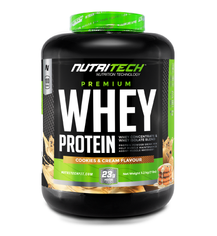 Nutritech 100% Pure Whey 3.2kg Cookies