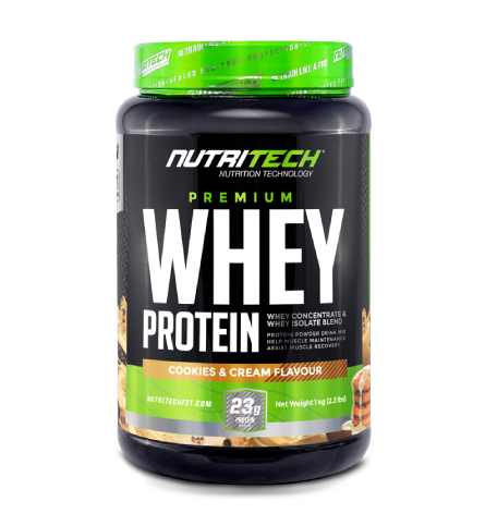 Nutritech 100% Pure Whey 1kg Cookies