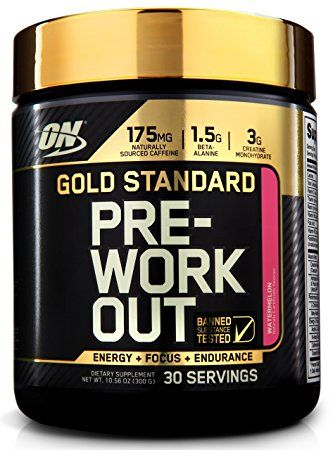 Optimum Nutrition - Gold Standard Pre Workout Fruit Punch