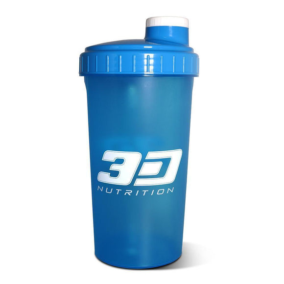 3d Nutrition Shaker Blue 700ml