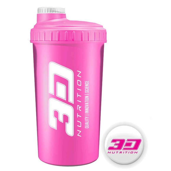 3d Nutrition Shaker Pink 700ml