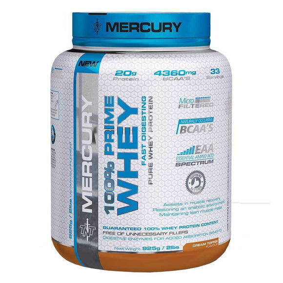 TNT 100% Prime Whey Cream Toffee 925g On 10+1