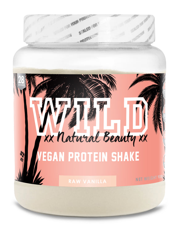 WILD Natural Beauty - Vegan Protein - Strawberry