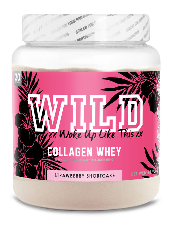 Woke Up Like This - Collagen Whey - Strawberry
