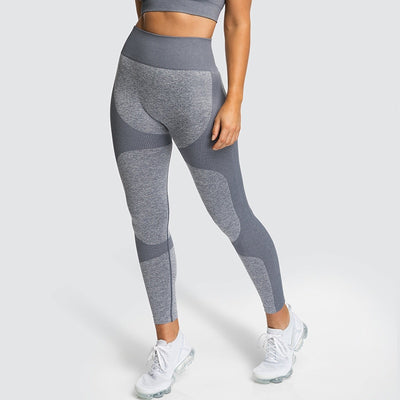 Energy Seamless Patchwork Push Up Pants