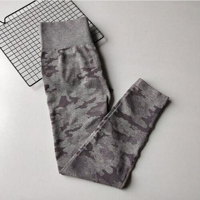 Camouflage High Waisted Yoga Pants