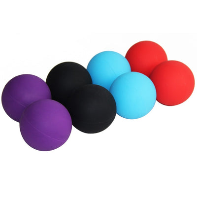 Solid Peanut Lacrosse Massage Ball