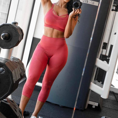 Women Sports Capris Yoga Pants