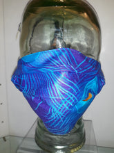 Load image into Gallery viewer, Royal Blue Peacock Upcycled Masks