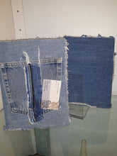 Load image into Gallery viewer, Denim Upcycled Journal