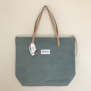 Waxed Canvas Bags from Newton Supply Co.