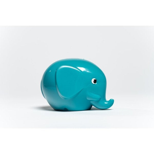 Elephant Money Box (Turquoise)
