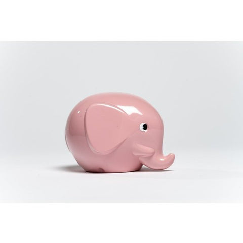 Elephant Money Box (Pink)