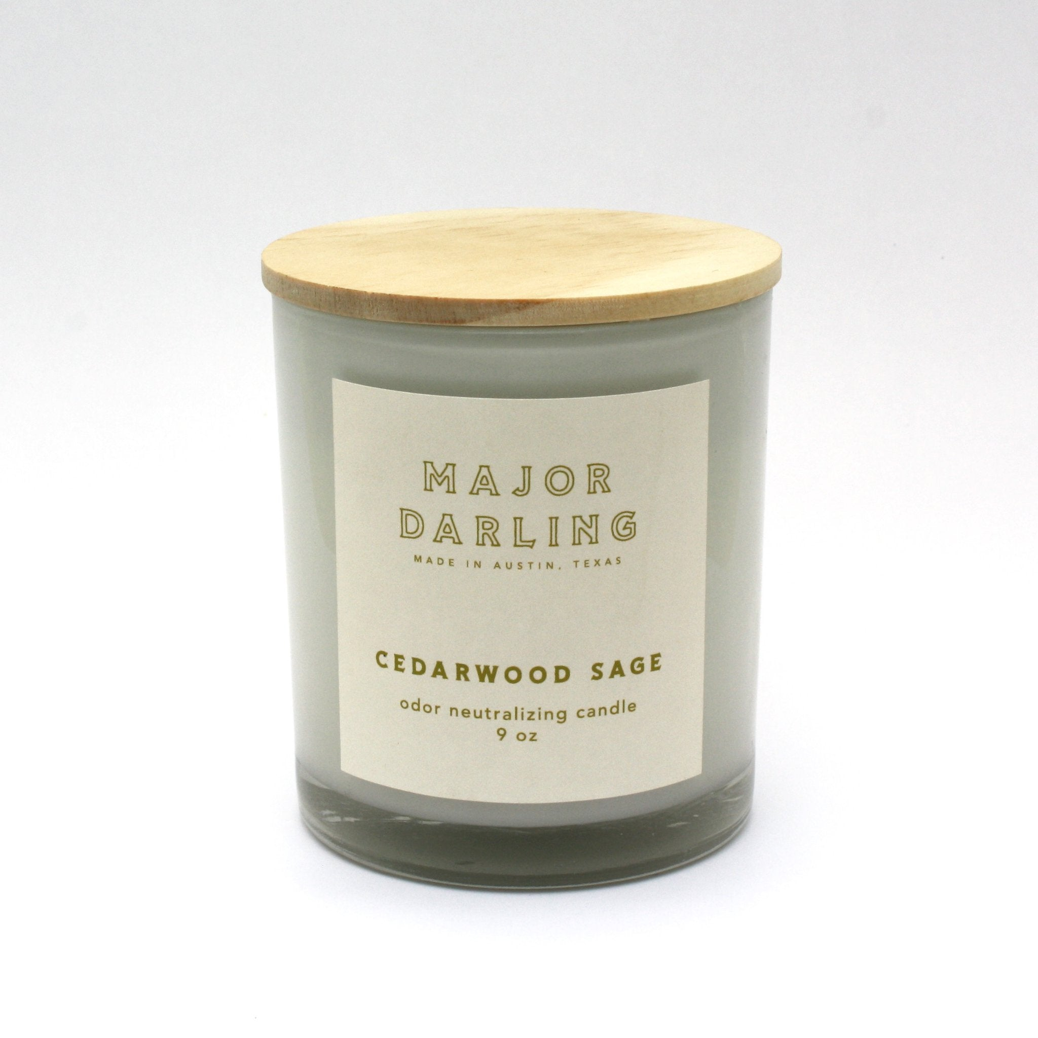 Odor Neutralizing Candle - Cedarwood Sage