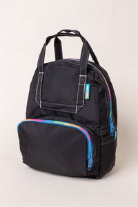 Mini Atlas Backpack - Black/Rainbow