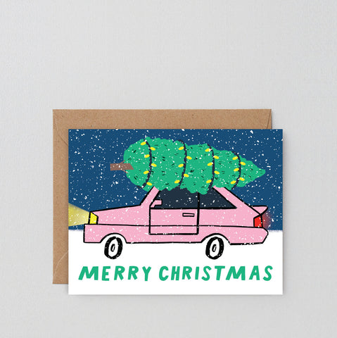 Holiday Card: Christmas Car