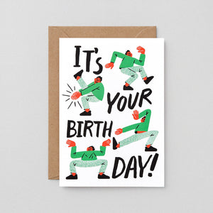 Birthday Card: It's Your Birthday