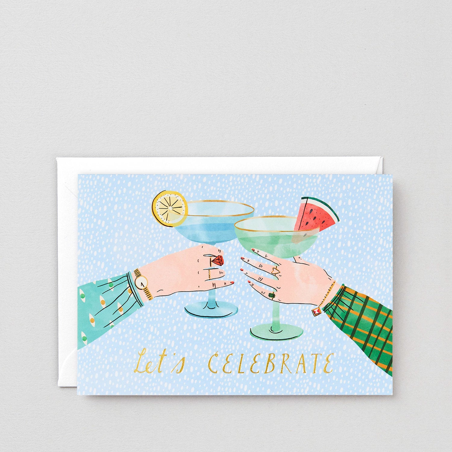 Greeting Card: Let's Celebrate