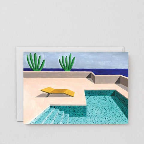 Greeting Card: Pool