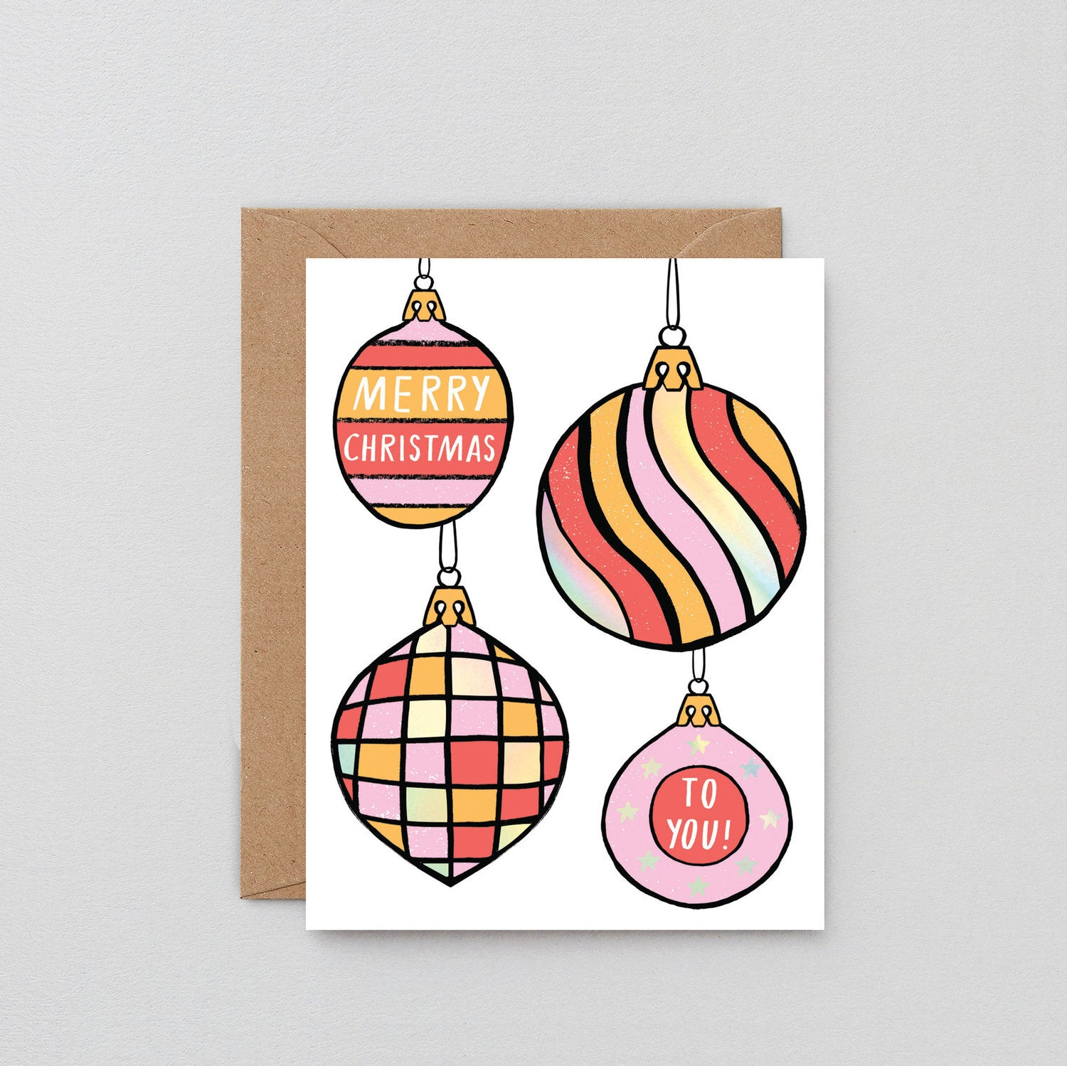 Holiday Card: Ornaments