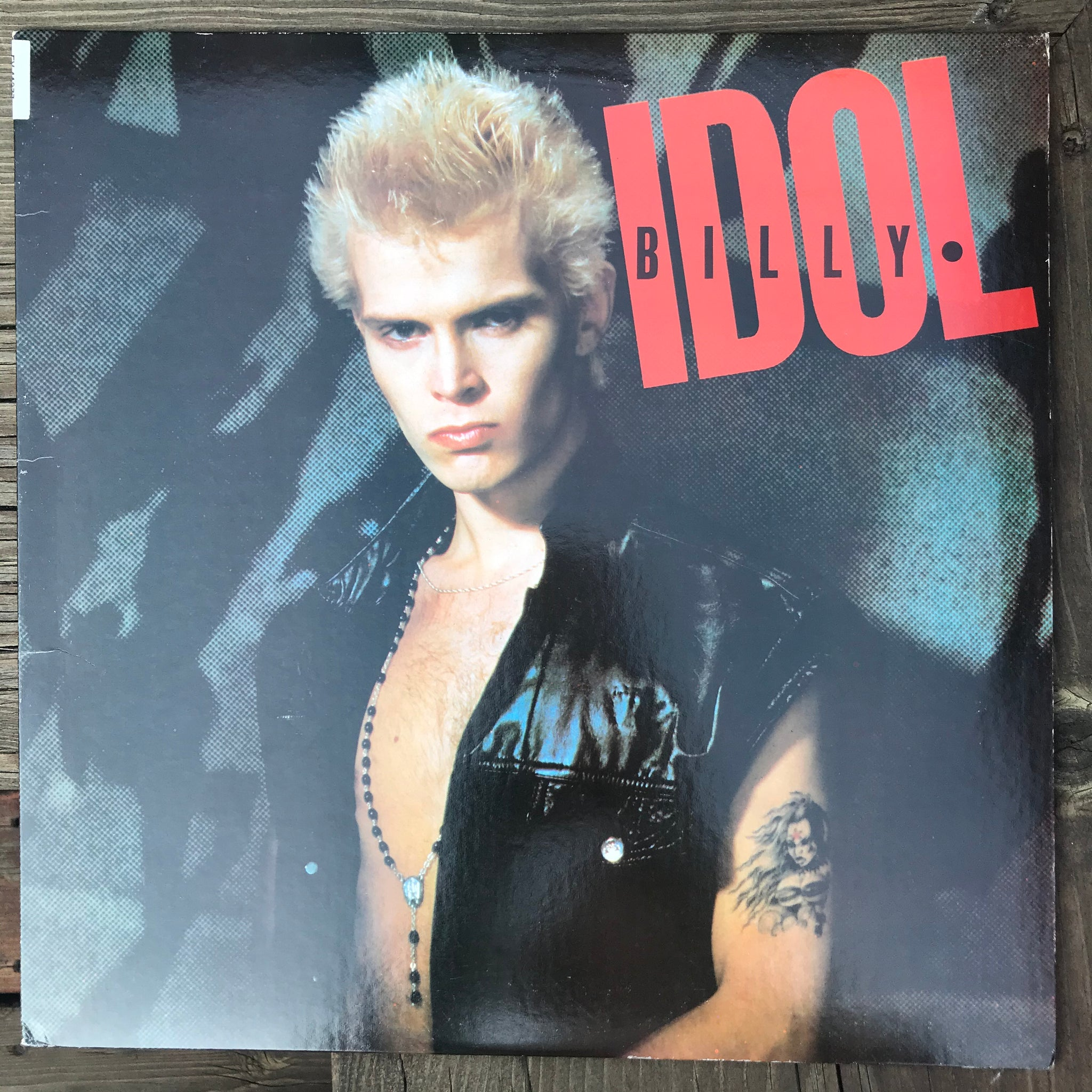 Billy Idol - s/t (USED LP)