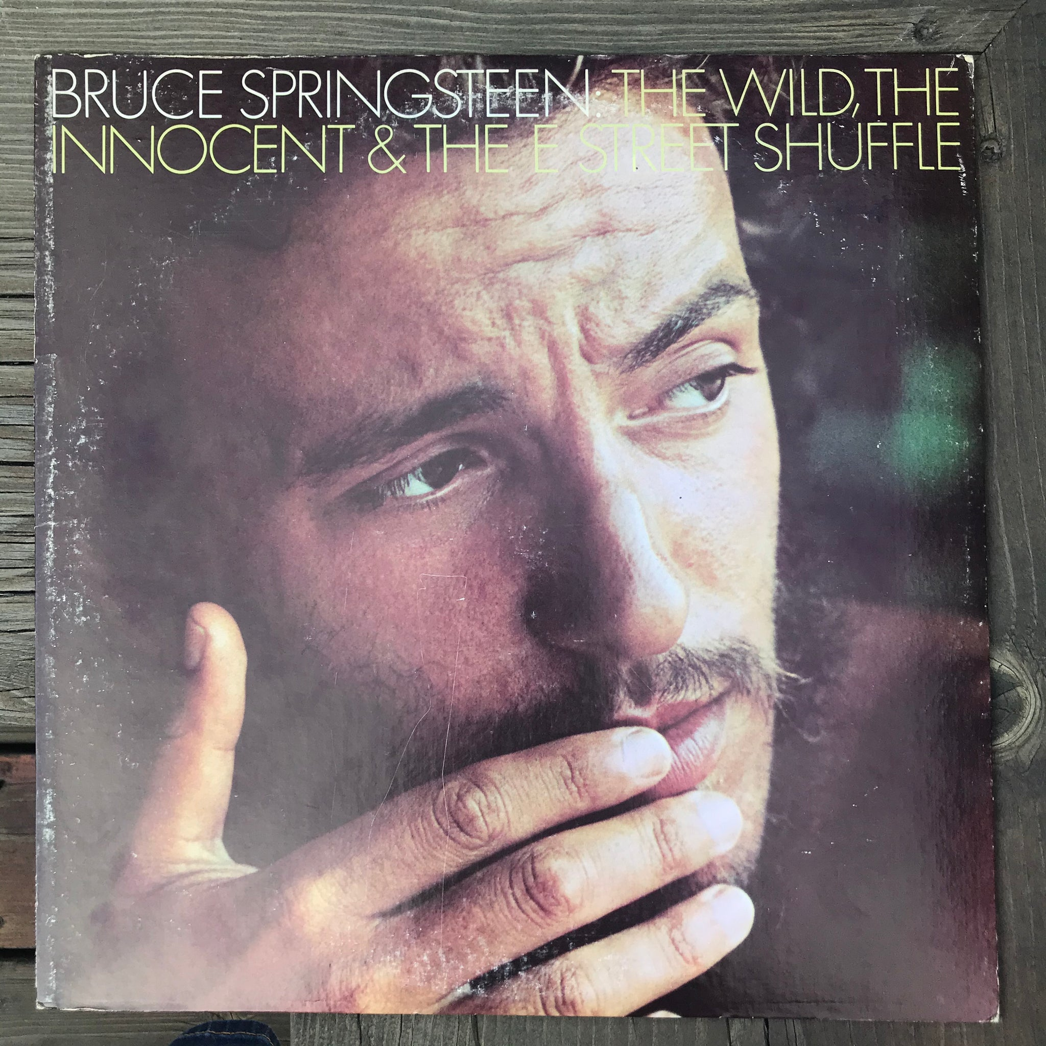 Bruce Springsteen - The Wild, The Innocent & The E Street Shuffle (USED LP)