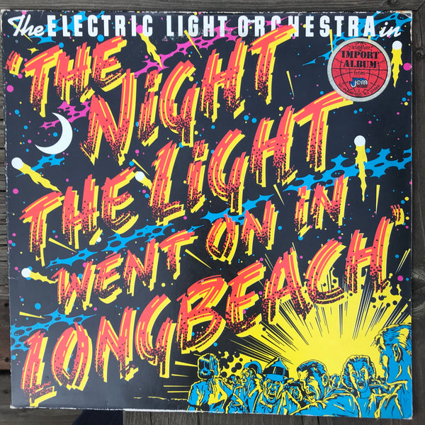 ELO - The Night The Light Went On In Longbeach (USED LP)