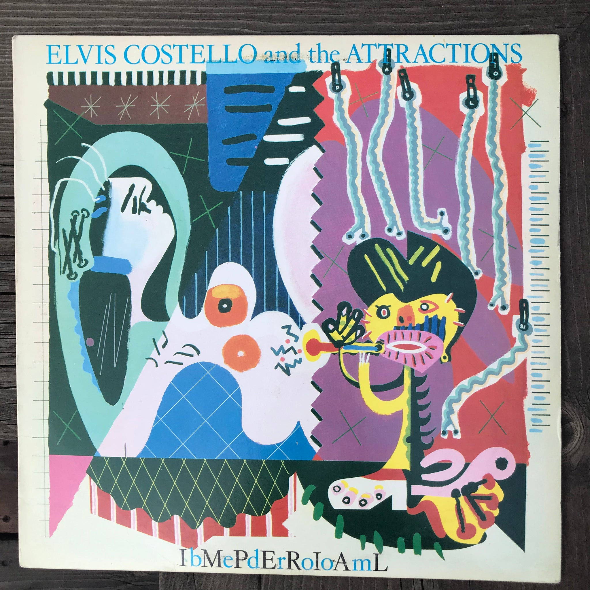 Elvis Costello and the Attractions - Imperial Bedroom (USED LP)