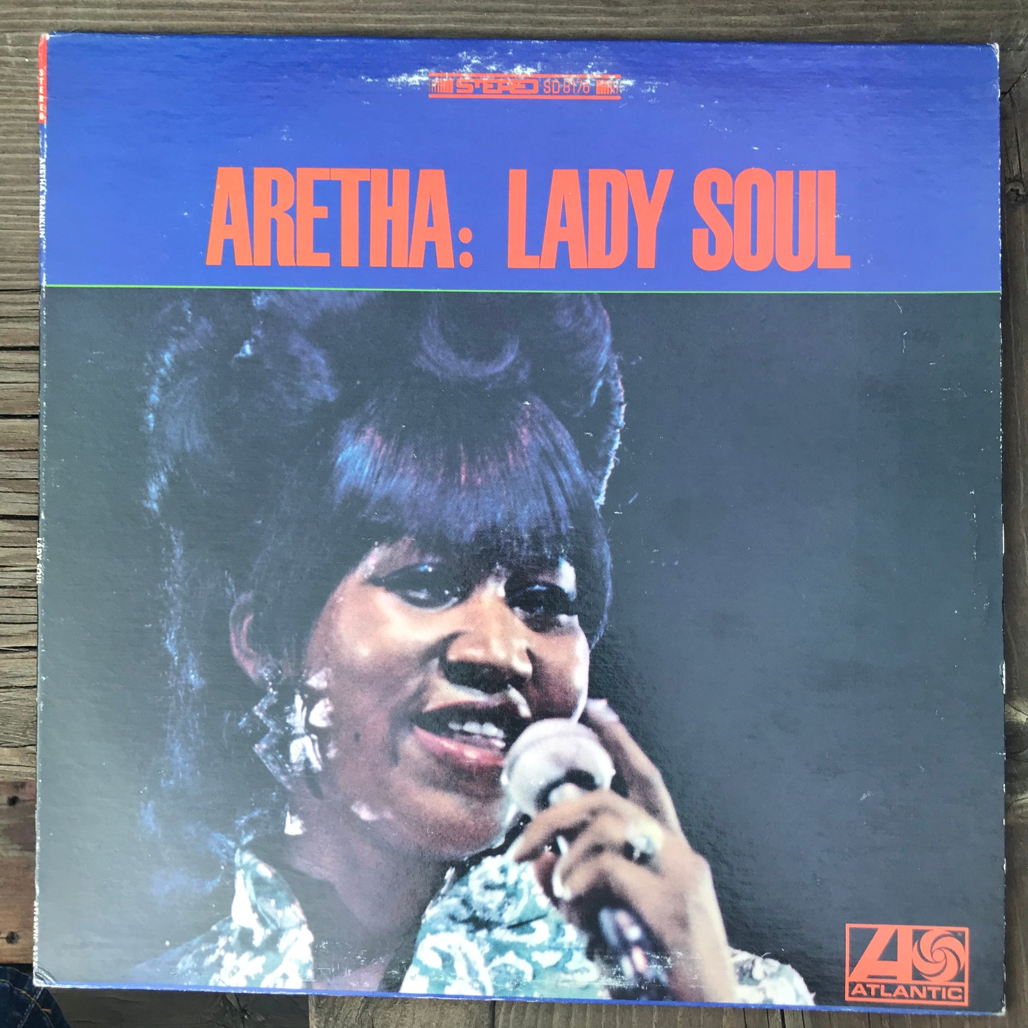 Aretha Franklin - Aretha: Lady Soul (USED LP)