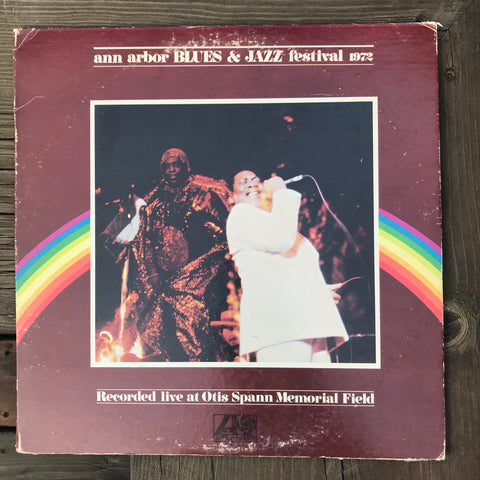 Various Artists - Ann Arbor Blues & Jazz Festival 1972 (USED LP)