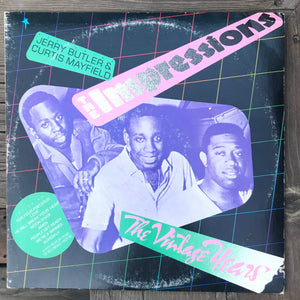 The Impressions - The Vintage Years (USED LP)