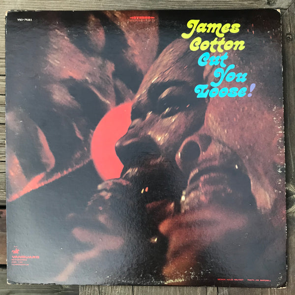 James Cotton - Cut You Loose! (USED LP)