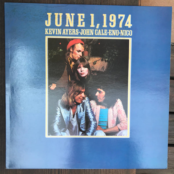Kevin Ayers / John Cale / Eno / Nico - June 1, 1974 (USED LP)