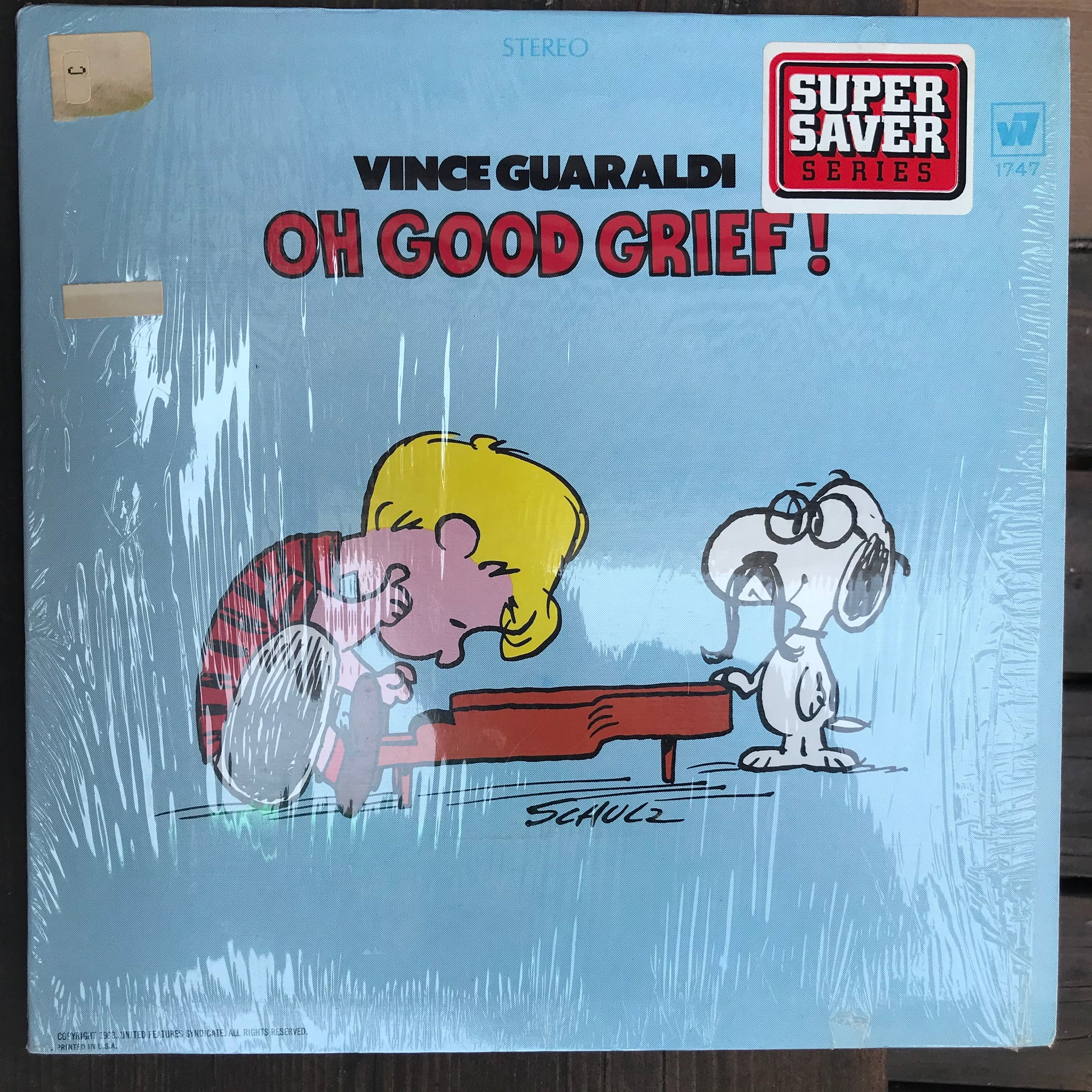Vince Guaraldi - Oh Good Grief! (USED LP)