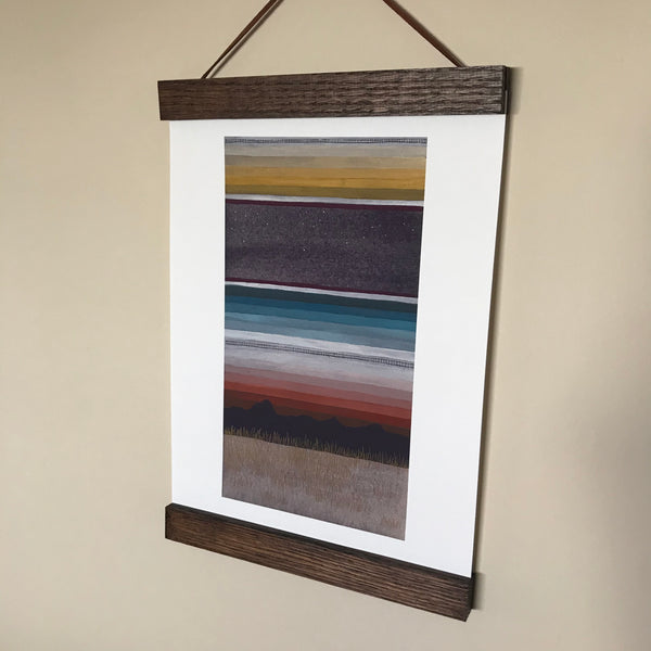 ART PRINT: Blanket Sky - by Heather Sundquist Hall
