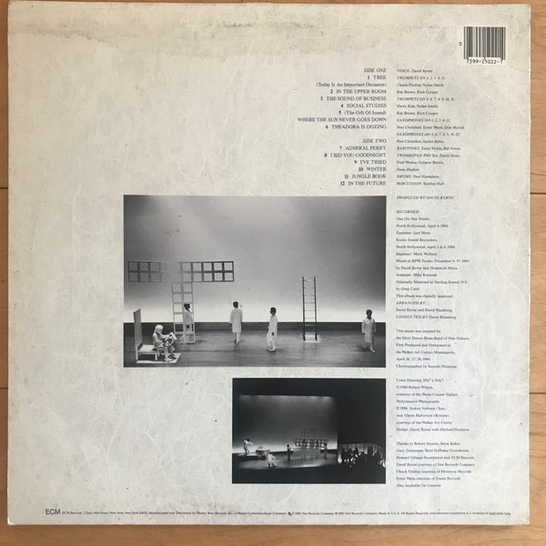 David Byrne - Music for The Knee Plays (USED LP)