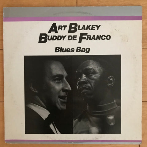 Art Blakey / Buddy De Franco - Blues Bag (USED LP)
