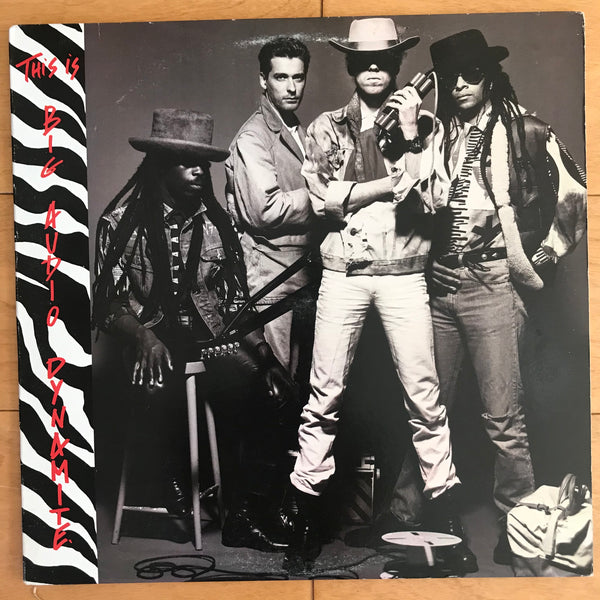 Big Audio Dynamite - This Is Big Audio Dynamite (USED LP)