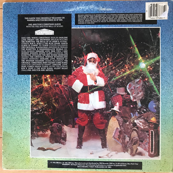 Various Artists - The Phil Spector Christmas Album (USED LP)
