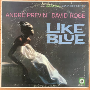 André Previn & David Rose - Like Blue (USED LP)